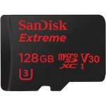 SanDisk 128GB Extreme UHS-I U3 microSDXC Memory Card