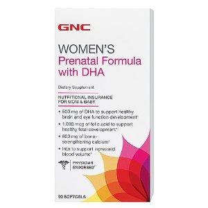 GNC Women's Prenatal Formula with DHA