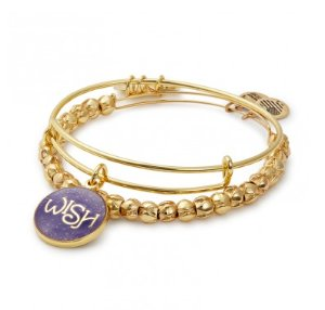 Cyber Monday Exclusive! $46.5 (reg. $58)Limited Edition Wish Bangle Set of 2 (Valued At $66)