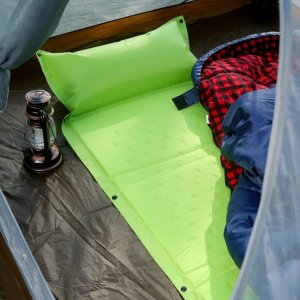 $23.79 Camp Solutions Lightweight Self-Inflating Air Sleeping Pad