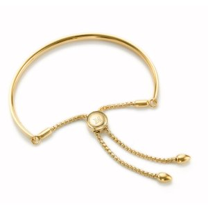 Fiji Chain Friendship Bracelet - Gold | Monica Vinader