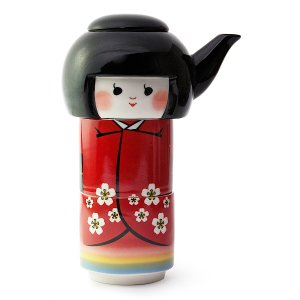 Miya Company Kokeshi Doll Tea for Two Teapot Set | zulily