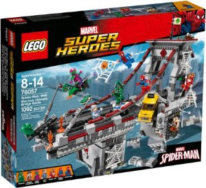 $69.97 76057 LEGO Super Heroes Spider-Man: Web Warriors Ultimate Bridge