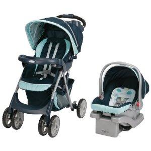 $116.79(原价$189.99)史低价!Graco Comfy Cruiser婴儿汽车座椅+折叠儿童推车套装