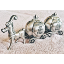 $22.7 Lillian Rose Keepsake Pewter Tooth and Curl Box, Fairytale Coach, 2