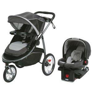 Graco Modes 大轮慢跑推车+SnugRide Click Connect 35婴儿座椅