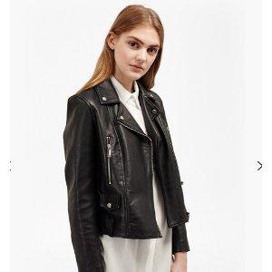 Lydia Leather Jacket | Jackets | French Connection Usa