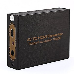 Anvo Mini AV To HDMI Converter with AV Cable