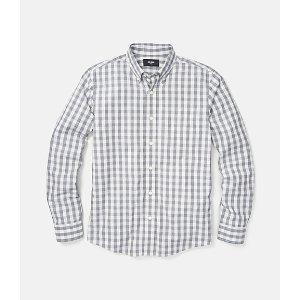 Palmer Heathered Gingham Bd One Pocket Shirt - JackSpade