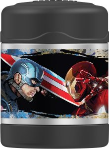 Thermos Funtainer 10 Ounce Food Jar, Captain America Civil War