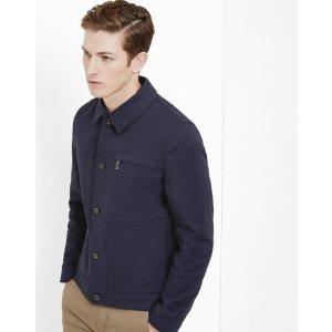 Patch pockets jacket - Navy | Jackets & Coats | Ted Baker