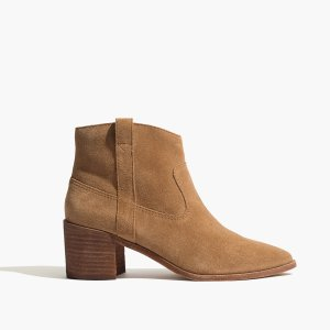 The Lonnie Boot in Suede