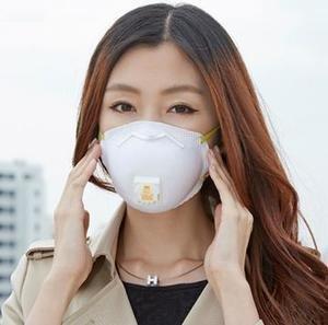 防雾霾口罩!$25.153M品牌 8511 N95 呼吸阀防尘口罩10片