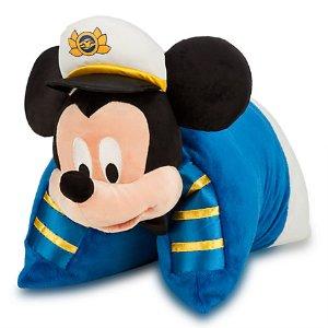 Mickey Mouse Pillow Plush - Disney Cruise line | Disney Store
