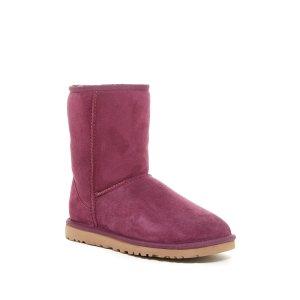 Classic Short Genuine Sheepskin Lined Boot