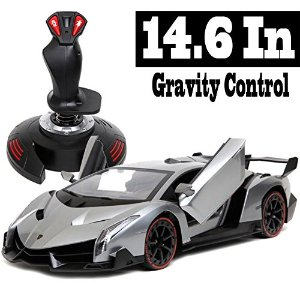 $47.50 Holy Stone 2962A Lamborghini Veneno 1/14 Scale, Gravity Sensor Radio Control Vehicle Diecast Model