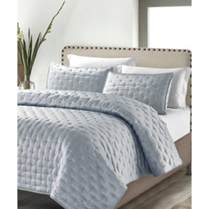 Silver Masterpiece Coverlet Set | zulily
