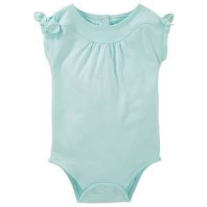 Baby Girl Tie Sleeve Bodysuit | OshKosh.com