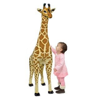 Melissa & Doug Plush Jumbo Giraffe Stuffed Animal