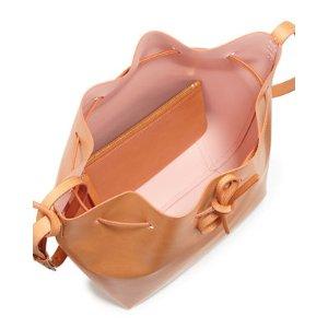 Mansur Gavriel Vegetable-Tanned Leather Mini Bucket Bag