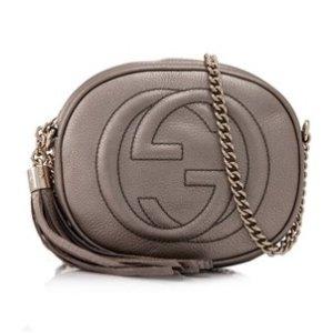 Gucci Soho Leather Chain Crossbody