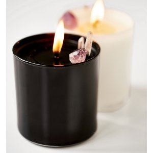 Elektric Alice Soy Quartz Crystal Candle at Free People Clothing Boutique