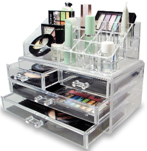 $12.98 Vencer Standard-size Jewelry & Cosmetic/makeup Organizer Set (1 Top 4 Drawers)