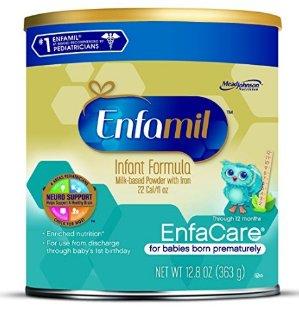 $71.83Enfamil EnfaCare 早产儿及体重过轻婴儿奶粉12.8盎司(6罐装)