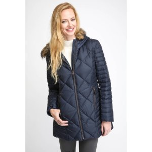 Andrew Marc Kami Chevron Down Puffer Coat | South Moon Under