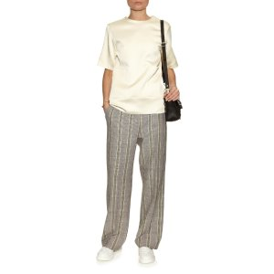 Acne Studios Obel cotton and linen-blend trousers