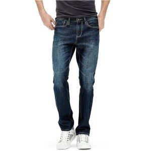 Delmar Slim Straight Jeans | GuessFactory.com