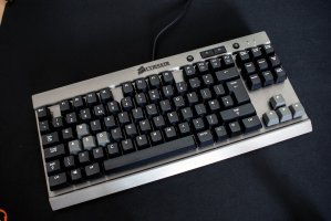 $55.99 Corsair Vengeance K65 Compact Mechanical Gaming Keyboard