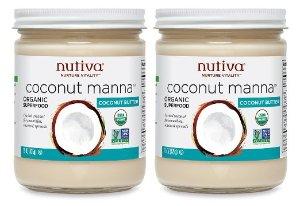 Nutiva Organic Coconut Manna, 15 Ounce (Pack of 2)
