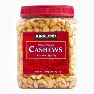 Kirkland Signature Whole Fancy Cashews, 40 Oz | Jet.com
