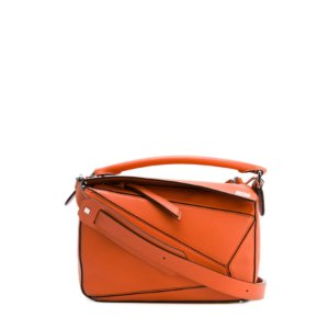 Loewe Small Puzzle Bag Coral