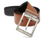 Salvatore Ferragamo Sonic Reversible Leather Belt