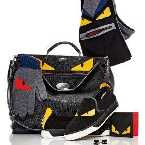 Fendi Nylon Monster Backpack