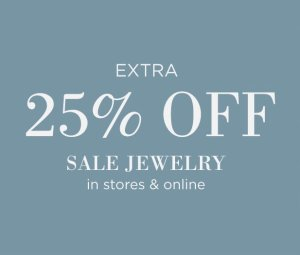 Extra 25% OffJewelry Sale @ South Moon Under
