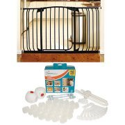 Dreambaby Chelsea Xtra Wide Gate & Home Safety Value Bundle