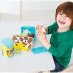 Skip Hop Baby Zoo Little Kid and Toddler Mealtime Lunch Kit Feeding Set, Multi, Jules Giraffe