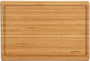 Extra Large Bamboo Cutting Board (18 by 12 inch)