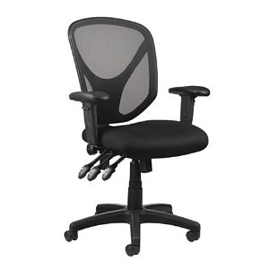 Realspace MFTC 200 Multifunction Ergonomic Super Task Chair Black by Office Depot & OfficeMax