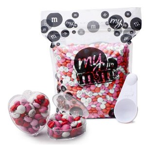 MY M&M'S® Heart DIY Kit (40pk)-Bulk Bags
