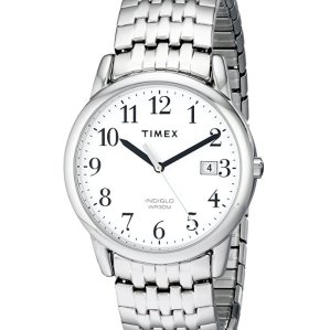 Timex Men's Easy Reader Date Dress Expansion Band Watch