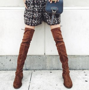 Earn Up to a $700 Gift Card Stuart Weitzman Over the Knee Boots @ Saks Fifth Avenue