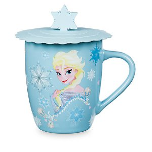 Anna and Elsa Mug with Lid | Disney Store