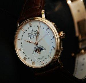 BLANCPAIN MEN'S Swiss Mechanical Automatic watch 6263-3642-55B@Ashford