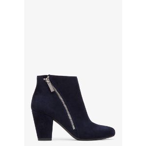 Dorien Zip Detail Ankle Boot