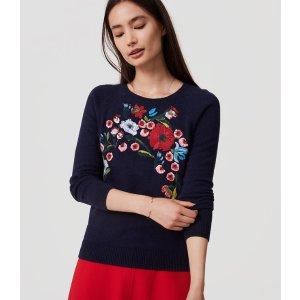 Bouquet Sweater | LOFT