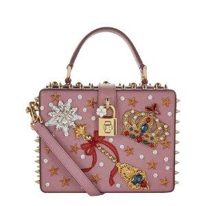 Dolce & Gabbana Embellished Padlock Top Handle Bag | Harrods